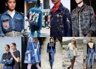 Sobretudo, bordados, manchados, jeans trabalhados de maneiras bem fofas.